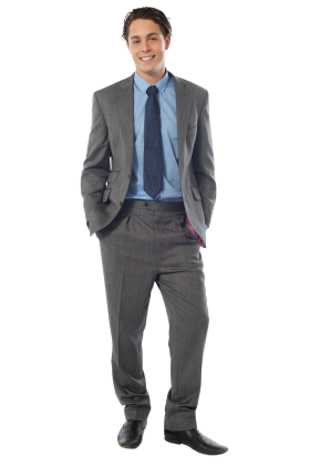 Men In Suit PNG