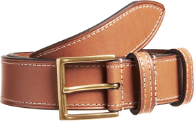 Mens Leather Belt PNG