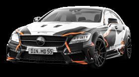 Mercedes Benz CLS 500 Black Car PNG