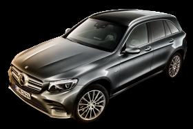 Mercedes Benz GLC Gray Car PNG