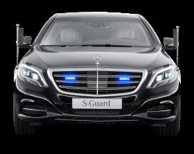 Mercedes Benz S 600 Guard President Black Car PNG