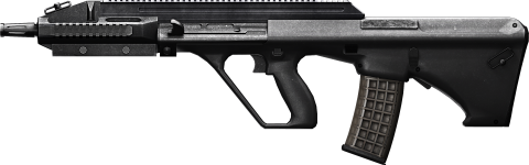 Metal Assault Rifle NEw PNG