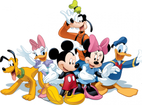Mickey Mouse  & Friends PNG
