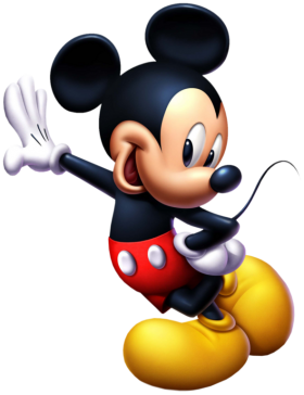 Mickey  Mouse Standing PNG
