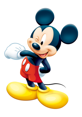 Mickey  Mouse Wink PNG