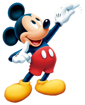 Mickey  Writing PNG