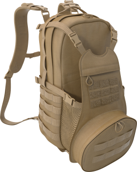 Military Bag With Extra Pockets PNG