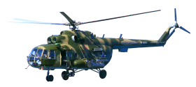 Military Helicopter PNG