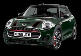 Mini John Cooper Works Green Car PNG