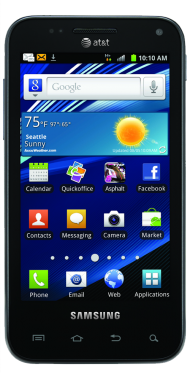 Samsung Galaxy S Relay 4G Black PNG