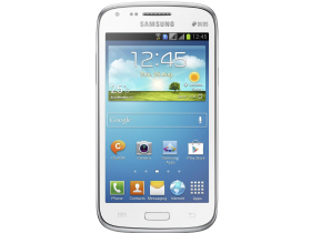 Samsung Galaxy Core GT-I8262 White PNG