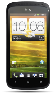 HTC One X Black PNG