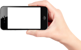 Mobile Phone With Touch PNG