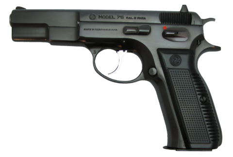 Model 75 Hand Gun PNG