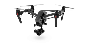 Modern Black Spying drone PNG