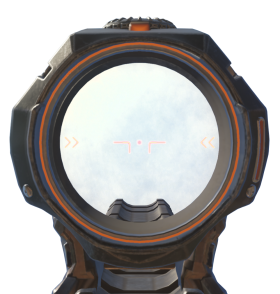 Modern Orange Scope PNG