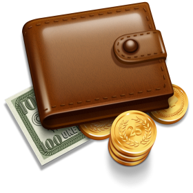 Money's  Purse PNG