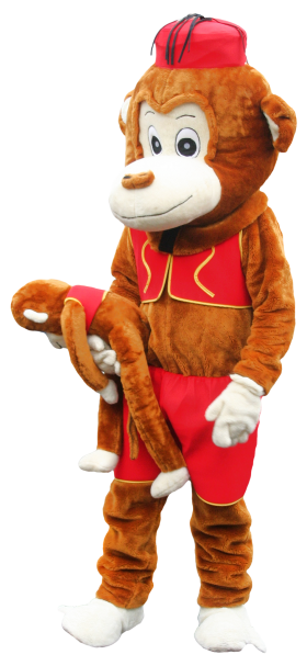 Monkey Toy PNG
