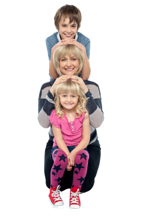 Mother And Child PNG