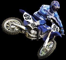 Motocross Racer PNG