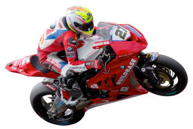 Motorcycle Racer PNG
