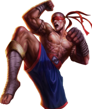 Muay Thai Lee Sin Skin PNG