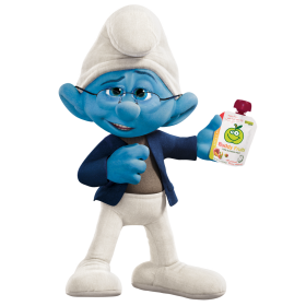 Narrator Smurf PNG