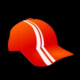 Netalloy Cap With Racing Stripe PNG