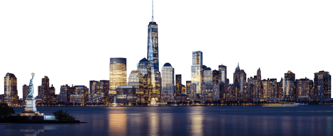 New-York  City Skyline PNG