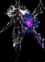 Nightblade Irelia Skin PNG