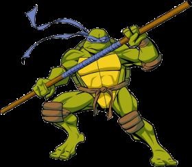 Ninja Tutle Donatello PNG