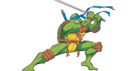 Ninja Tutle Leonardo PNG