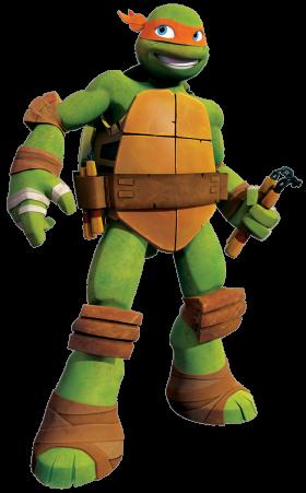 Ninja Tutle Michelangelo- PNG
