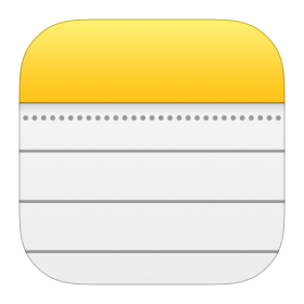 Notes Icon iOS 7 PNG