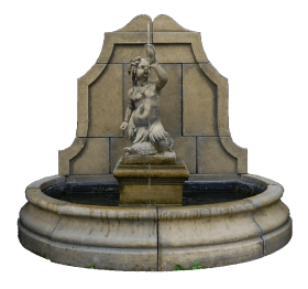 Old Fountain PNG