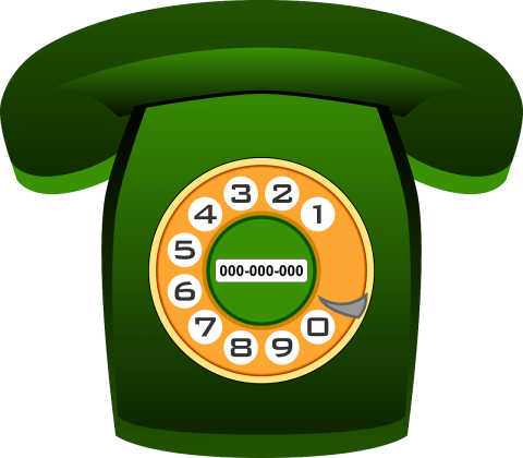 Old Phone PNG