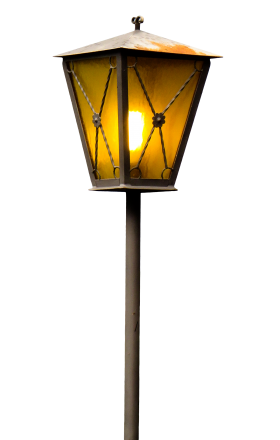 Old Street Lamp PNG