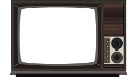 Old Television PNG