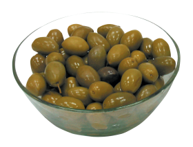 Olive in Bowl PNG