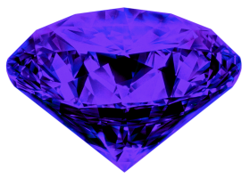 One And Half Diamond PNG