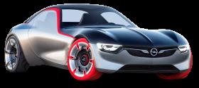 Opel GT Concept Car PNG