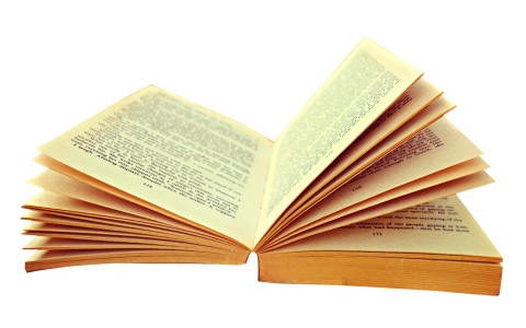 Opened Book PNG