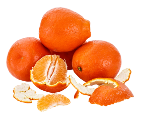 Orange Peeled PNG