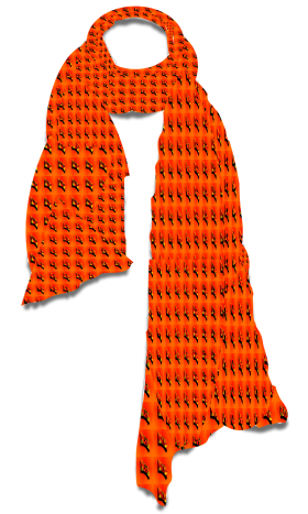 Orange Scarf PNG
