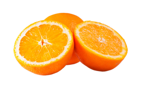 Orange  slices PNG
