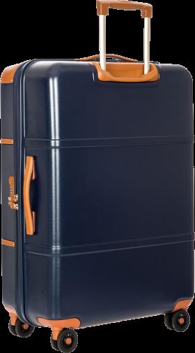 Orange Suitcase PNG
