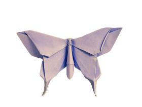 Origami Butterfly PNG