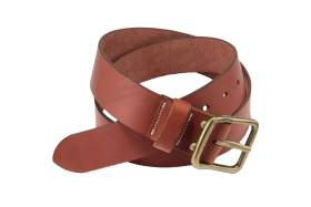 Oro Russet Pioneer Leather Belt PNG