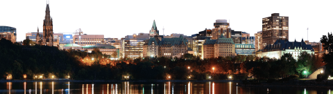 Ottawa City Skyline PNG