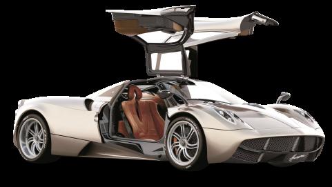 Pagani Huayra Sports Car PNG